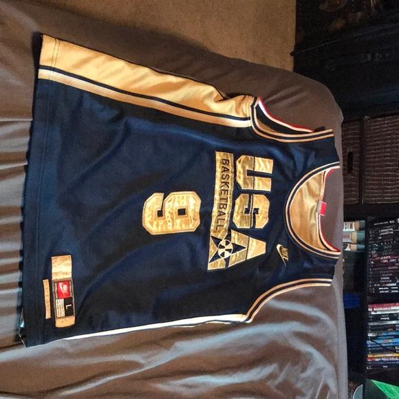 low priced 15753 cb09d Michael Jordan olympic jersey
